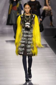 Fendi, Fall 2012 - This Is Why Joan Smalls Rules the Runway - Photos