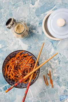 Kinpira z marchewki/Carrot kinpira