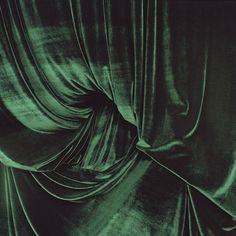 esther teichman. Green velvet texture. | The Good Hacienda | curated by Hilary