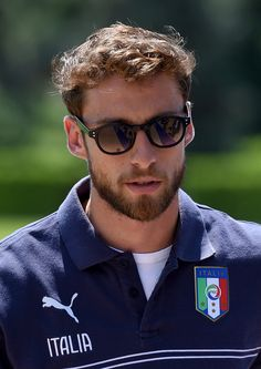 Claudio Marchisio in Italy Training Session