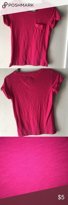 Abercrombie Kids Pink Shirt Hot pink color. Abercombie Kids Shirts & Tops Tees - Short Sleeve