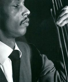 Tommy Potter 21/09/1918 – 15/03/1988  Bass   Photograph from the Lonehill Jazz 4 CD