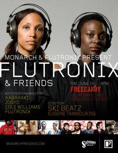 SHOWTIME: Fri. June 2nd-@Skibeatz Special Guest DJ Set @ Flutronix & Friends at FreeCandy, Bklyn, NYC-LINK: http://skibeatz.me/