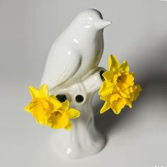 Porcelain Bird Vase | Shop P. Allen