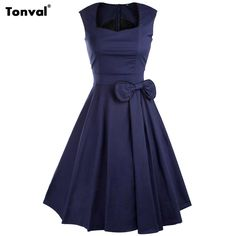 >>>HelloTonval 2016 Women Bow Vintage Dress Summer Sexy Evening Retro Party Elegant Cotton Black Rockabilly 1950s Swing DressesTonval 2016 Women Bow Vintage Dress Summer Sexy Evening Retro Party Elegant Cotton Black Rockabilly 1950s Swing DressesCheap Price Guarantee...Cleck Hot Deals >>> http://id780519234.cloudns.pointto.us/32513374623.html images