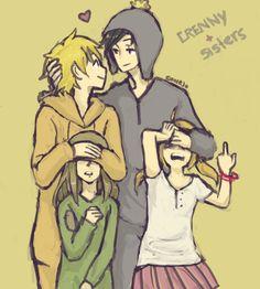 Crenny + sisters by Dakumes on DeviantArt