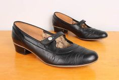 1930s womens low heel shoes - Google Search