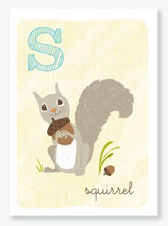 So i have a thing for squirrels. Boy room?http://www.etsy.com/listing/48385389/s-is-for-squirrel?ref=sr_gallery_18_search_query=ABC+art_page=5_search_type=handmade_facet=handmade
