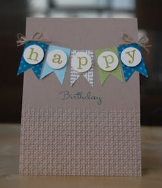 Great card. Different colours would make it suitable for men or women