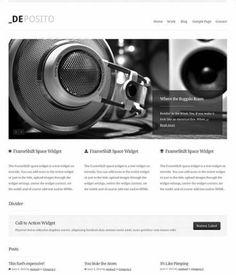 dePosito Business WordPress Theme : ThemeShift http://www.wordpressthemereviewdesk.com/deposito-review/ #WordPress