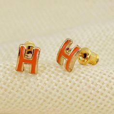 FASHION FORWARD SMALL EARRINGS ORANGE FASHION FORWARD SMALL EARRINGS ORANGE  27DN Jewelry Earrings
