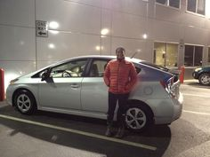 Congrats to Danielle on your new 2015 #Toyota Prius! Keep in touch and send us some pics in your new #hybrid! Thank you from Qasim and everyone at Ardmore Toyota! #OhWhatAFeeling #Happy