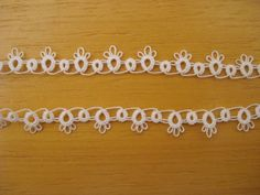 lace tatting frivolite trim