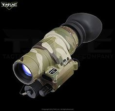 TNV/PVS-14 Gen3 Auto-gated Night Vision Monocular. Got the full kit!