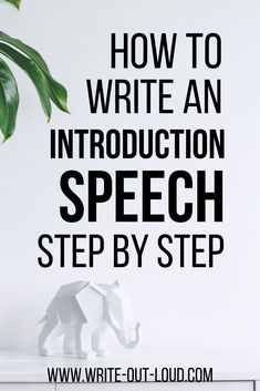 How to Write an Introduction Speech Step by Step. Free resource guide teaching best practices of how to write an introduction speech giving examples and tips. Writing Strategies, Writing Lessons, Writing Ideas, Self Introduction Speech, Wedding Ceremony Script Funny, Speech Text, Middle School Ela, High School, Engage In Learning