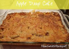 Recipe – Apple Dump Cake! Only 3 Ingredients! – Mom Saves Money