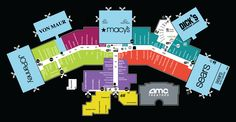 13 Best Mall Maps images in 2015   Mall, Make a map, Main Street Castleton Square Mall Map on