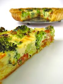 Tasty rough puff pastry broccoli & bacon quiche. I will be making these in mini form for the game!