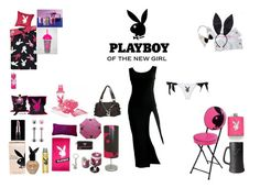 PLAYBOY by mayleneholm on Polyvore featuring Jean-Paul Gaultier, Fleur du Mal, Playboy and castro Cosplay Outfits, Jean Paul Gaultier, New Girl, My Outfit, Playboy, Polyvore, Image