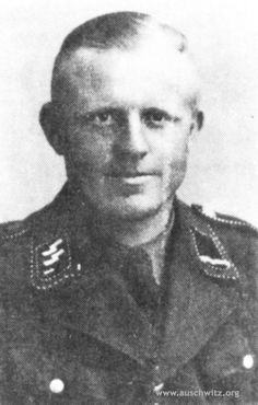 Otto Moll was an SS-Hauptscharführer and part of the staff at Auschwitz. Born in Hohen Schönberg, Germany on March 4, 1915 and was executed on May 28, 1946 in Landsberg am Lech.