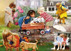 Donald Zolan - Children (puzzle)1890×1362)
