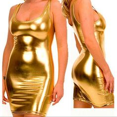 Black, Gold & Silver Women Sexy Metallic Liquid Latex Bodysuits Party Girl`s Fuax Leather Bodysuits Costume Wet Look Bodusuit