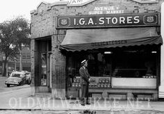 Old Pictures From the 1950s | 35th & Wisconsin Avenue 1950 -