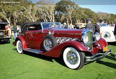 1935 Duesenberg Model SJ - (Duesenberg Automobile & Motors Company, Inc. Auburn, Indiana,1913-1937)