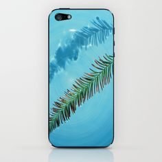 Leaf on Water iPhone & iPod Skin by Celia Dias - $15.00
