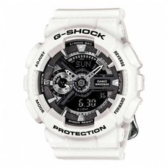 dc34e478b95 Casio G-Shock S Series Floral White Dial Resin Quartz Ladies Watch Shock    Water Resistant 29 Time Zones   48 Cities. Second Stopwatch.