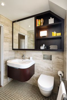 Amazing Use Of Space In This Bathroom Designed By Astro Design