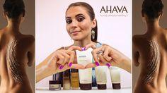 AHAVA Skincare Review #AHAVALove