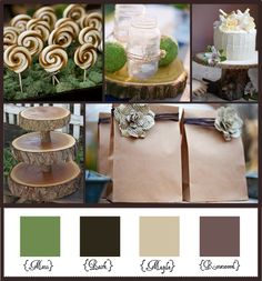 Woodsy Elegance Use Stampin' Up! Colors:  Early Espresso, Sahara Sand, and Gumball Green