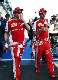 #Kimi #KimiRaikkonen #Raikkonen #iceman #Ferrari #ScuderiaFerrari #AustralianGP #AusGP #Melbourne #AlbertPark #redseason #F1 {March 15,2015} pic11