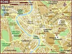 Street Map of Rome