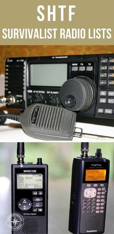 SHTF Survivalist Radio Lists - Its hard to imagine a world without communications or with limited communications. This is because we are flooded with communications options today. In fact, the very essence of relaxation involves cutting off this stream of communications.