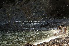Lo natural es disfrutar. Talleres de creatividad +perspectiva