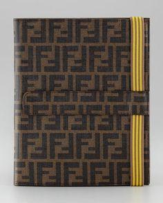 7207f3694800 Fendi Zucca iPad Case with Cover