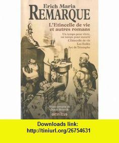 Romans (French Edition) (9782258085541) Erich-Maria Remarque , ISBN-10: 2258085543  , ISBN-13: 978-2258085541 ,  , tutorials , pdf , ebook , torrent , downloads , rapidshare , filesonic , hotfile , megaupload , fileserve