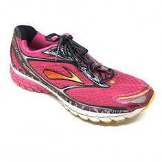 8707feb0e nice Women s Brooks Ghost 7 Running Shoe Beetroot Purple Black Silver Size  M US