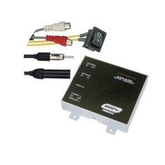 Metra 44-FMMOD02 FM Modulator Wired Version 2 Frequency Channels, Channel Switch for Alternate FM Frequencies. Remote On/Off Switch: Switch can be Mounted for Easy Access. Female Stereo RCA Adapters. Modulator can be Mounted Behind or Below the Vehicles Dash. Modulator is Housed in a Sturdy Metal Case.  #Metra #Car_Audio_or_Theater