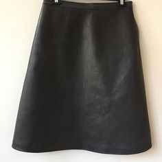 Just picked the leather skirt sample. I love that it isn't like anything I have ever seen. 100% chestnut veg tanned leather in 3oz. Usually leather apparel is made with chrome tanned leather so that it is stretchy and flexible and can be cut down to paper weight 1oz leather. There is a lot of that in the world, but this rugged, thick, stiff leather skirt is the thing for me. This sample is a 6/8. Come try it on if you are curious whether you are a thick leather skirt lover too!
