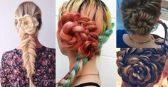 18 Cute Hairstyles You Can Do in Under 10 Minutes Cute Hairstyles, New Hair, New Look, Braids, Dreadlocks, Hair Styles, Life, Inspiration, Beauty