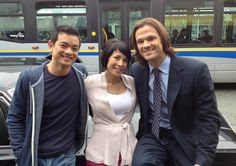 Supernatural ~ To Hell And Back Sam And Dean Supernatural, Castiel, Impala 67, Kevin Tran, Lauren Tom, Osric Chau, The Joy Luck Club, Picture Watch, Nice Picture