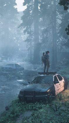 Apocalypse Aesthetic, Apocalypse Art, Apocalypse Landscape, Tableau Star Wars, Dystopian Art, Arte Zombie, The Lest Of Us, Edge Of The Universe, Post Apocalyptic Art