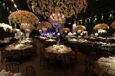 Decoração luxuosa de casamento