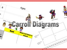 KS1/KS2 Carroll Diagram Pirates