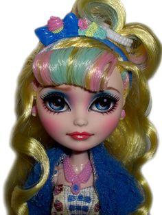 ☠ OOAK Custom Monster Ever After High Doll Repaint Blondie Locks Kawaii BJD ☠ | eBay