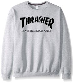 3014d8a2a43e Dmart7deal THRASHER autumn winter brand casual top drake fleece men cool  fashion funny sweatshirt hoodies male
