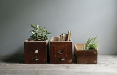 rustic vintage hardware drawer no. 1